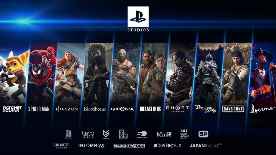 PlayStation Studios has 25 upcoming PS5 titles, half are new IPs